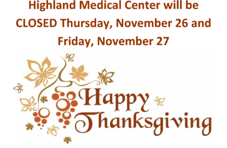 HMC is Closed for Thanksgiving