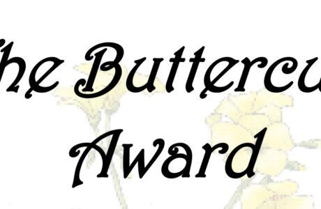 Introducing The Buttercup Award