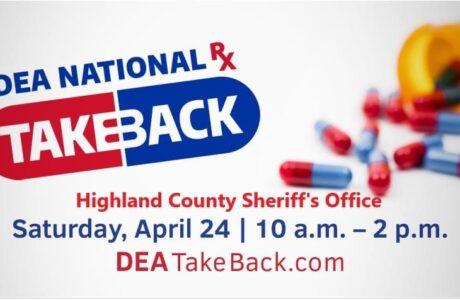 Medication Takeback April 24, 2021