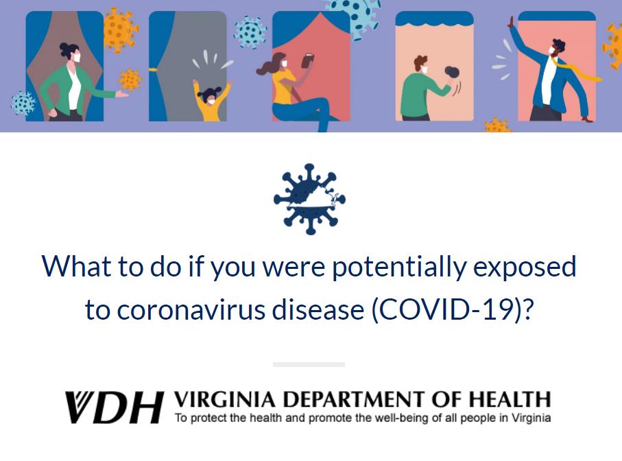 VDH COVID Exposure FYI