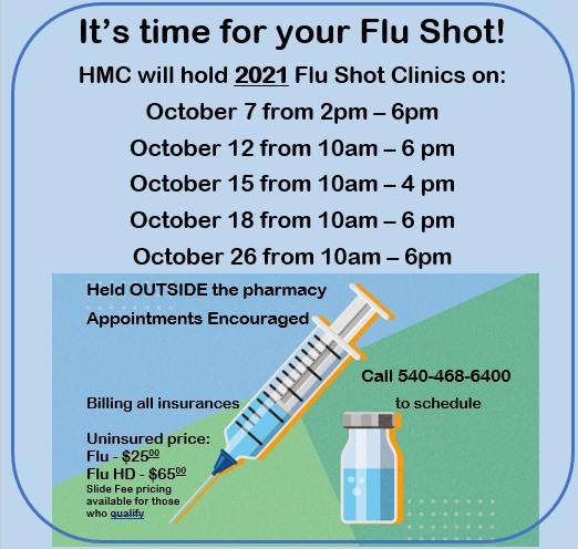 Flu Shot times